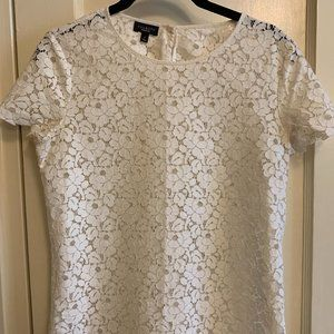 Talbots Lace Top, Size 2